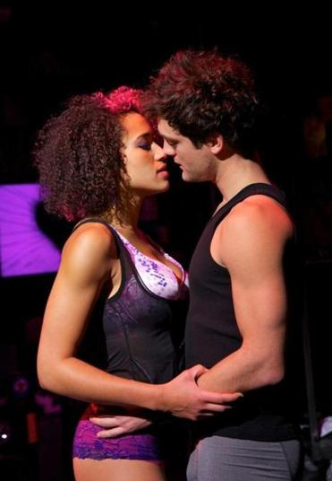 "Van Hughes and Gabrielle McClinton performed in ""American Idiot'' at the Boston Opera House."
